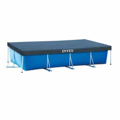 INTEX csővázas szögletes medence takaró (450 x 226 cm)