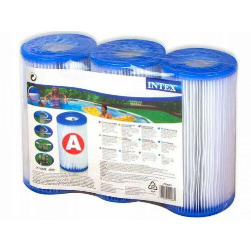 """INTEX """"A"""" típusú szűrő patron 3 db-os csomag"""