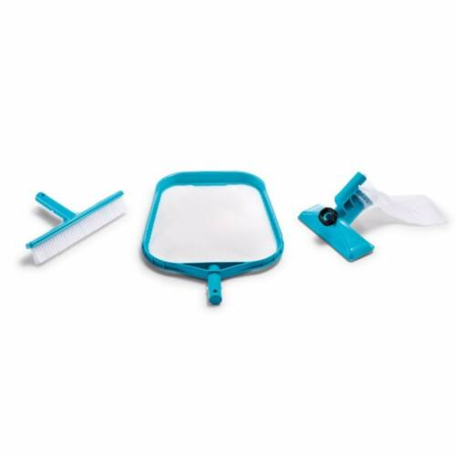 INTEX medence tisztító szett, fölöző háló, venturi porszívófej, kefe