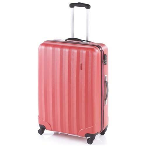 John Travel Rubine bőrönd korall bagy
