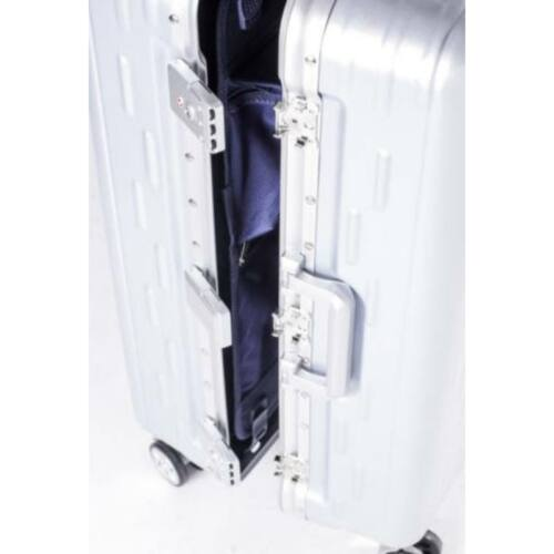 Yearz By March Discovery alumínium vázas bőrönd