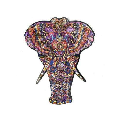 Hatalmas Elefánt különleges fa puzzle (14+)