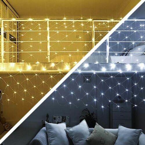 7 programos LED fényháló (1,85 x 0,85 m, hideg/meleg fehér)