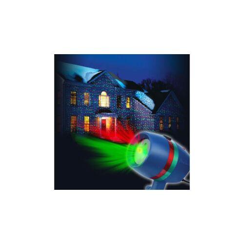 Színes Fényjáték Projektor távirányítóval