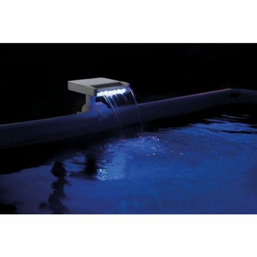 INTEX Három színű LED-es vízszóró kék