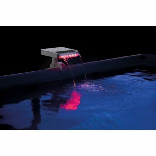 INTEX Három színű LED-es vízszóró piros