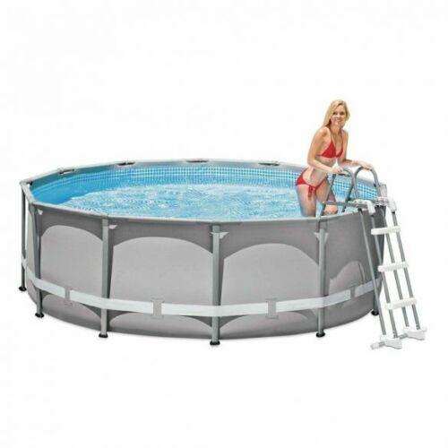INTEX Biztonsági medence létra 3 fokos 91-107cm magas medencékhez