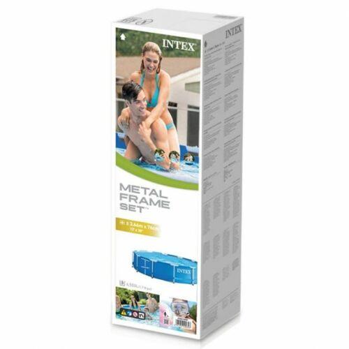 INTEX MetalPool fémvázas medence 2020-as modell (366 x 76 cm) csomag