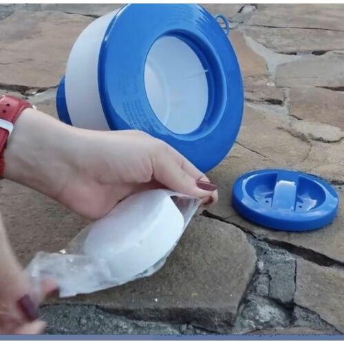 INTEX úszó MAXI vegyszer adagoló medencéhez használata