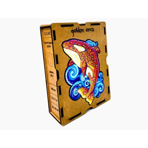 Kardszárnyú Delfin különleges fa puzzle (431 db-os, 14+)