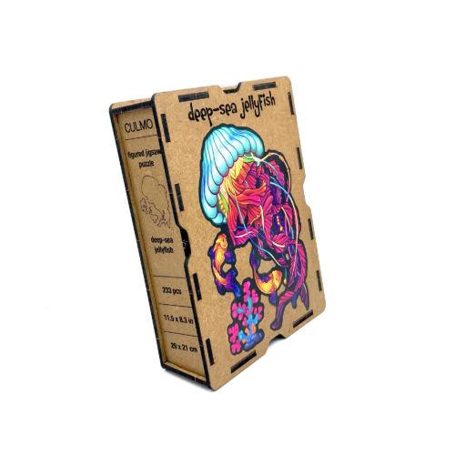 Mélytengeri Medúza különleges fa puzzle (233 db-os, 14+) doboza