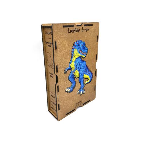 Rémisztő T-Rex különleges fa puzzle (205 db-os, 14+) doboza