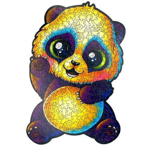 Vidám Panda különleges fa puzzle (115 db-os, 14+) egyben