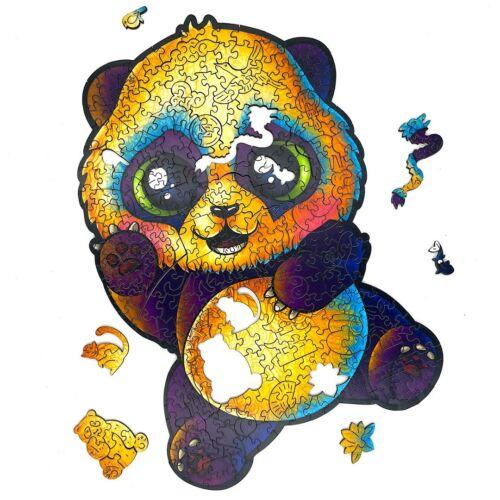 Vidám Panda különleges fa puzzle (115 db-os, 14+) részlet