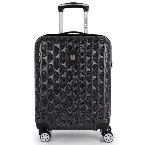 fekete Gabol Render bőrönd