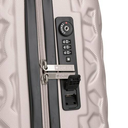 Gabol Render bőrönd TSA számzár + USB kimenet