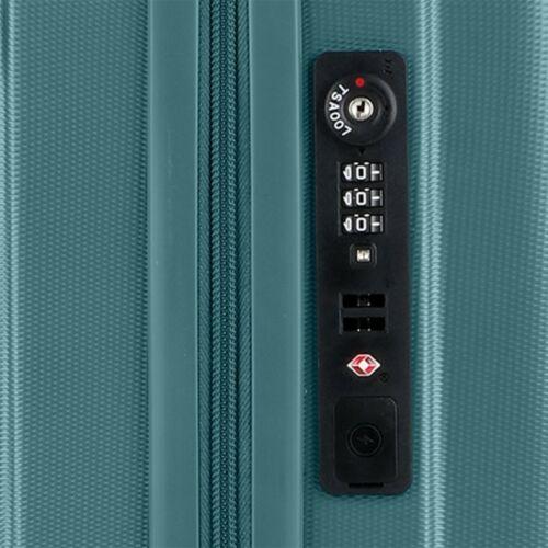 TSA zár és USB port