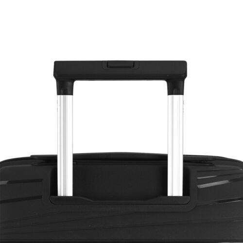 Gabol Kiba kabinbőrönd fekete húzókar
