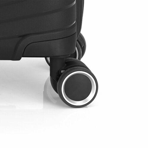 Gabol Kiba kabinbőrönd fekete kerekek