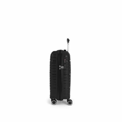 Gabol Kiba kabinbőrönd fekete oldala