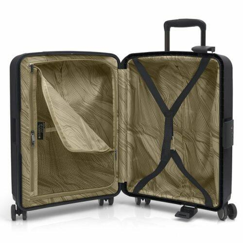 Gabol Sendai bőrönd (cipzár nélküli) belseje