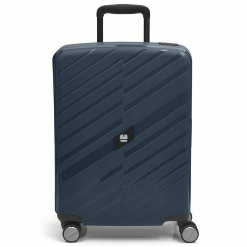 Gabol Sendai bőrönd (cipzár nélküli) - kabin méret, kék