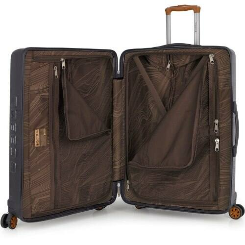 Gabol Mosaic bőrönd nagy, belülről
