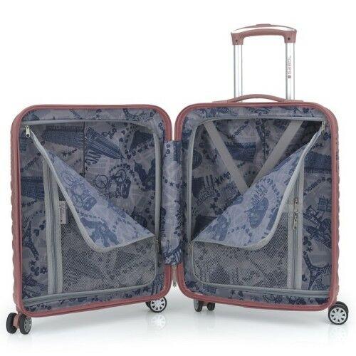 Gabol Oporto bőrönd kabin méret belseje