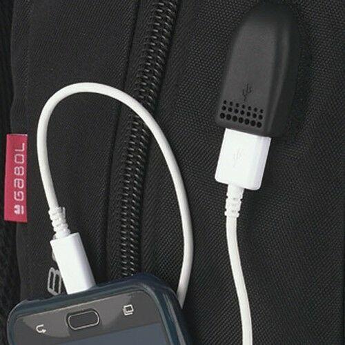 """Gabol Direct lopásbiztos laptophátizsák (15,6"""") USB kimenet"""