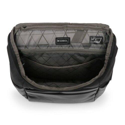"""A Gabol Micro laptoptartós hátizsák (14"""" ) belülről"""