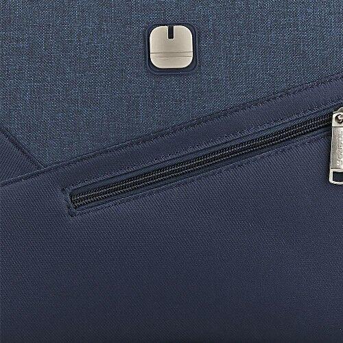 Gabol Mailer neszesszer és kozmetikai táska kék anyaga