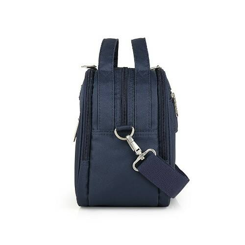 Gabol Mailer neszesszer és kozmetikai táska kék oldalról