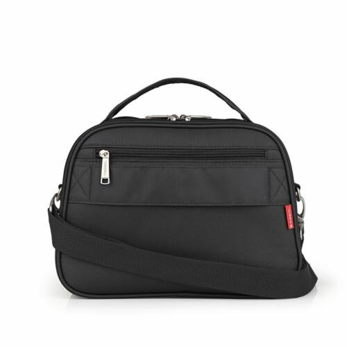 Gabol Mailer neszesszer és kozmetikai táska fekete hátulja