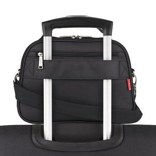 Gabol Mailer neszesszer és kozmetikai táska fekete húzókaron
