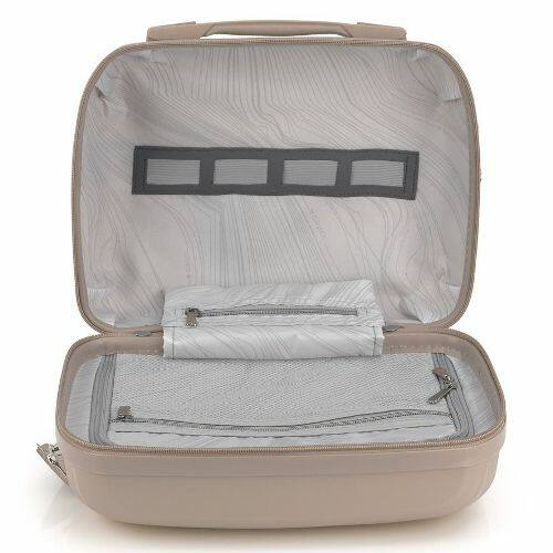 Gabol Kiba kozmetikai táska (keményfedeles) bézs belső