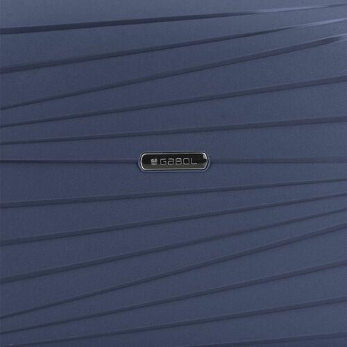 Gabol Kiba kozmetikai táska (keményfedeles) kék anyaga