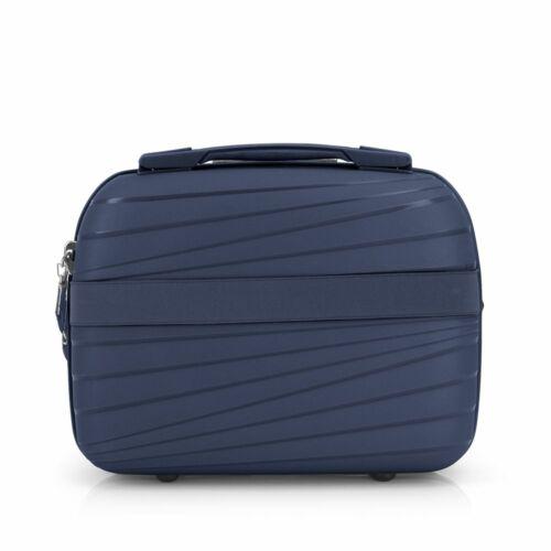 Gabol Kiba kozmetikai táska (keményfedeles) kék hátulról