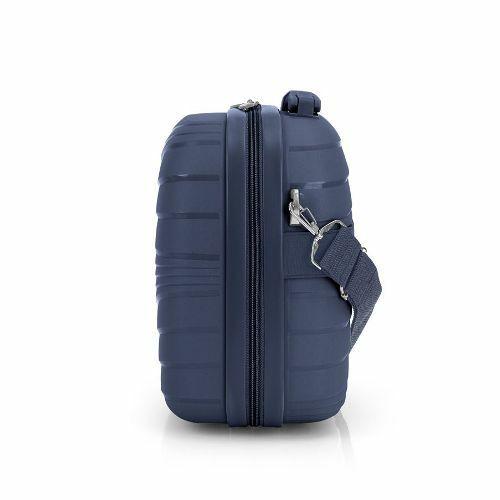 Gabol Kiba kozmetikai táska (keményfedeles) kék oldalról