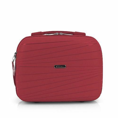 Gabol Kiba kozmetikai táska (keményfedeles) piros