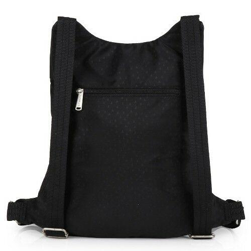 Gabol Way női hátizsák fekete hátulról
