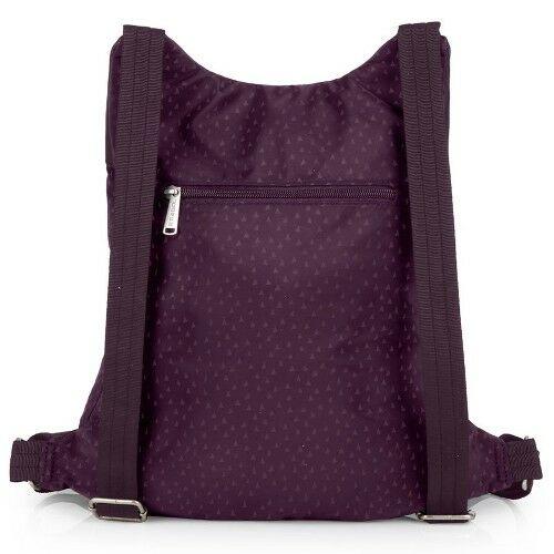 Gabol Way női hátizsák lila hátulról