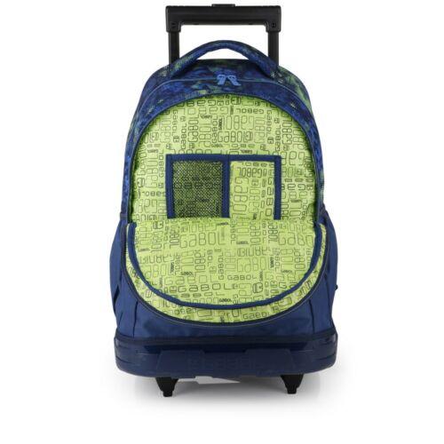Gabol Coach gurulós hátizsák (iskolásoknak) belseje