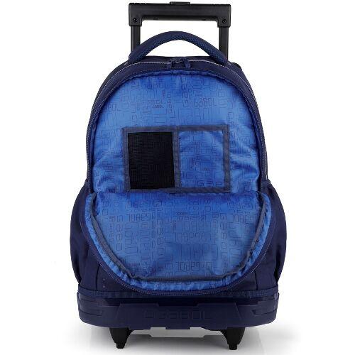 Gabol Speed gurulós hátizsák (iskolásoknak) belseje