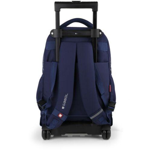 Gabol Speed gurulós hátizsák (iskolásoknak) hátulról