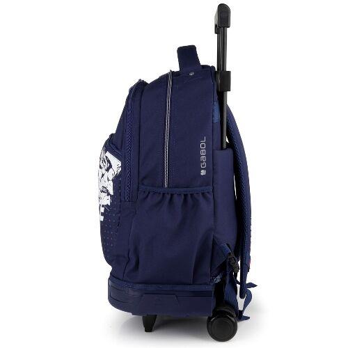 Gabol Speed  gurulós hátizsák (iskolásoknak) oldalról