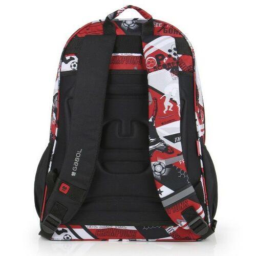 Gabol Game hátizsák (iskolásoknak) hátulja