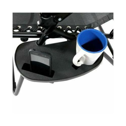2 db zéró gravitáció kerti szék, ajándék pohár- és telefontartó