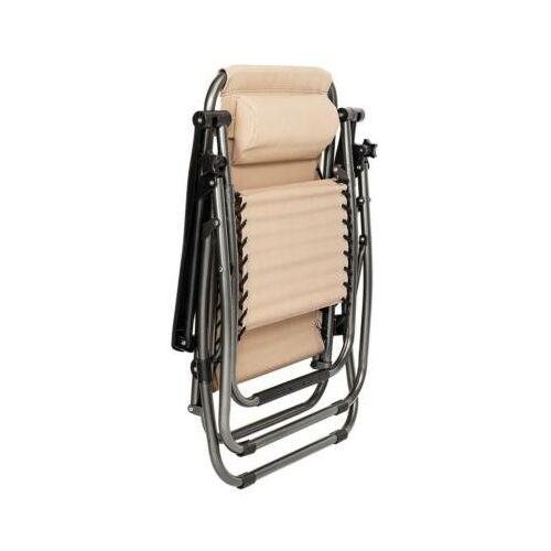 2 db zéró gravitáció kerti szék, ajándék pohár- és telefontartókkal összecsukva