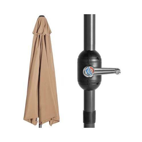 Balkon napernyő talp nélkül fel-, letekerő kar