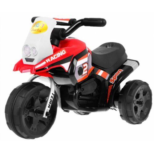 3 kerekű elektromos kisMotor gyerekeknek piros